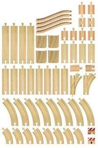 Brio 33772 - Skinnesett, 50 deler