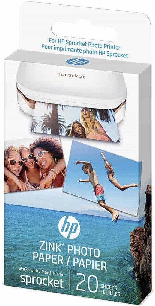 HP Sprocket fotopapir