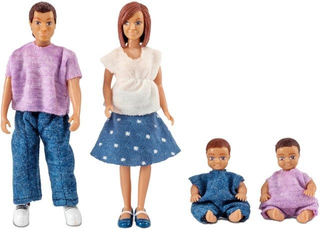 Lundby Dukkefamilie m/babyer