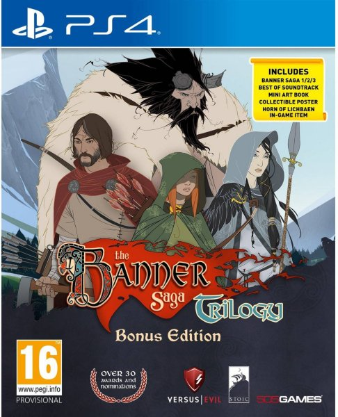 The Banner Saga til Playstation 4