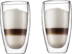 Bodum Pavina kaffeglass 45 cl 2 stk