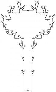 Maze Interior Tree Hanger