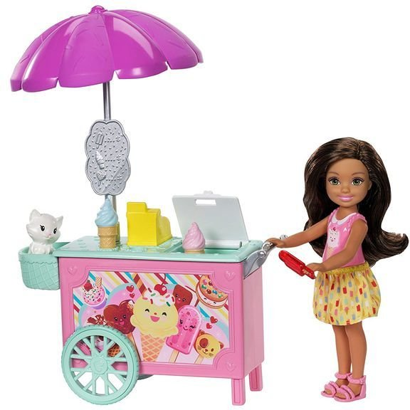 Barbie Chelsea Ice Cream Cart