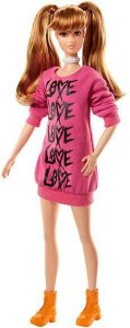 Barbie Fashionista 80 Wear Your Heart Doll