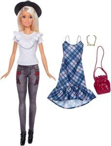 Barbie Fashionistas Denim Floral Dukke