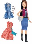 Barbie Fashionistas Pretty in Paisley Dukke