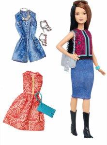 Barbie Fashionistas Pretty in Paisley Dukke