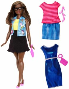 Barbie Fashionistas Emoji Fun Dukke