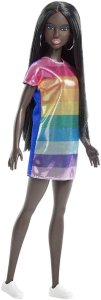 Barbie Fashionista Rainbow Sparkle Dress