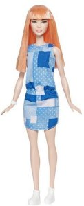 Barbie Fashionistas Patchwork Denim Doll