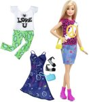 Barbie Fashionistas Peace & Love dukke