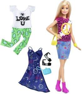 Barbie Fashionistas Peace & Love dukke