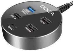 DOCA D576 USB-ladestasjon
