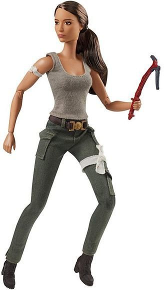 Barbie Tomb Raider Lara Croft Doll