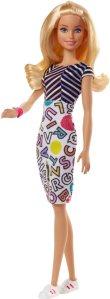 Barbie Color-In Fashion Crayola Dukke