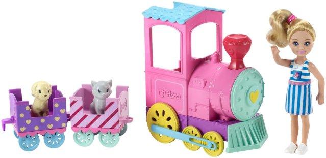 Barbie Chelsea & Animal Train