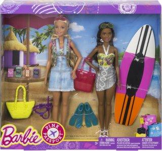 Barbie Pink Passport Beach-sett