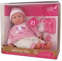 Dolls World Talking Tilly