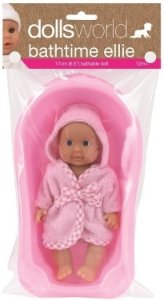 Dolls World Bathtime Ellie