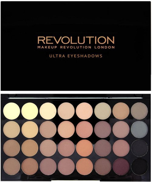 Makeup Revolution Ultra 32 Shade Eyeshadow Palette Flawless Matte