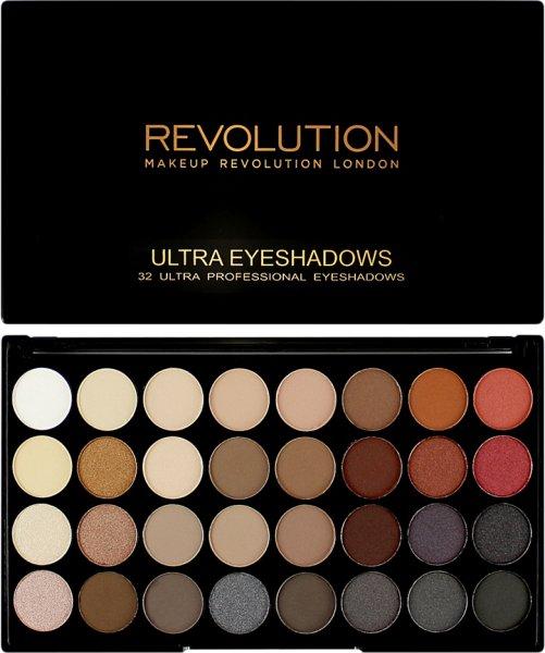 Makeup Revolution Ultra 32 Shade Eyeshadow Palette Flawless 2