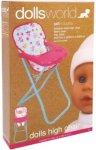 Dolls World Dolls High Chair