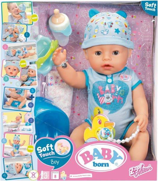 Baby Born Soft Touch (gutt)