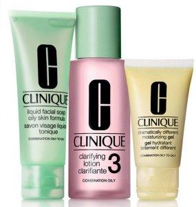 Clinique 3-Step Skin Care Intro Set Skin Type 3