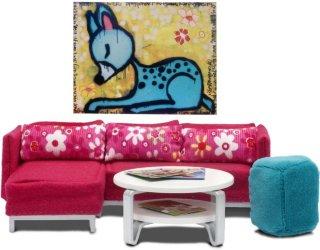 Lundby Stockholm Living Room