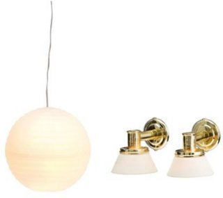 Lundby Småland Rislampe & Vegglamper