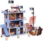 Woodlii Pirat Dukkehus
