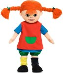 Pippi Langstømpe Dukke, 40 cm