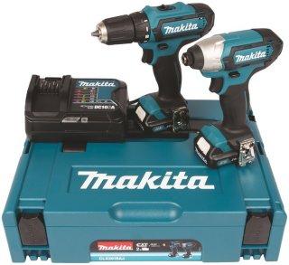 Makita CLX201SAJ Verktøysett (DF331D + TD110D)