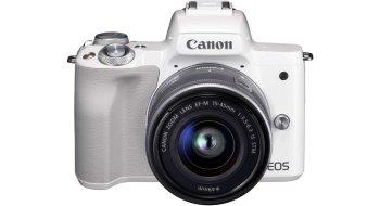 Canon EOS M50 m15 45mm + 55 200mm Sort Foto.no