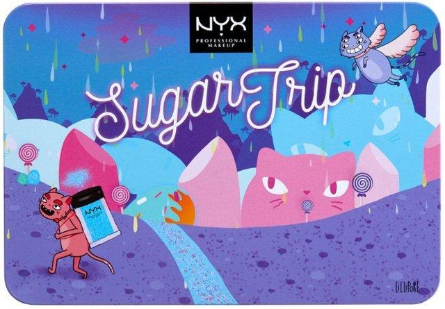 NYX Sugar Trip Glitter Vault