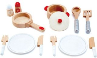 Hape Cook and Serve Set