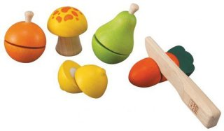 PlanToys Fruit and Vegetable Play Set