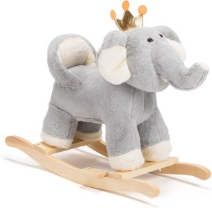 Cloudberry Castle Elefant Gyngehest