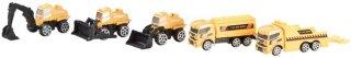 Motormax 5-Pack Anleggskjøretøy