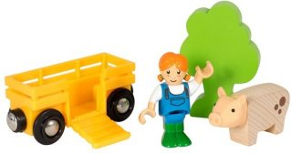 Brio World 33875 - Bondejentesett