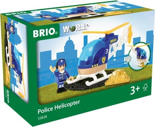 Brio World 33828 - Politihelikopter