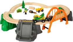 Brio World 33789 - Togbane tømmerhogging