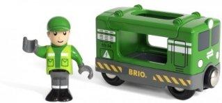 Brio World 33894 - Godstog med fører