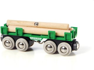 Brio World 33696 - Tømmervogn