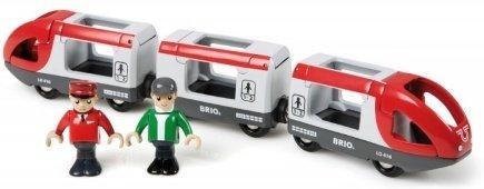 Brio World 33505 - Passasjertog m/vogner