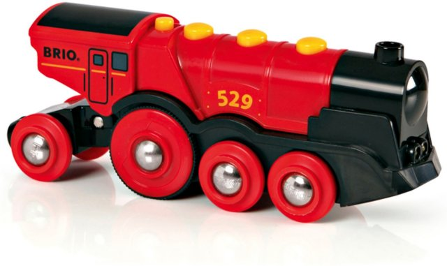 Brio World 33592/33593 - Batteridrevet lokomotiv