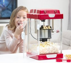 Popcornmaskin i retro design