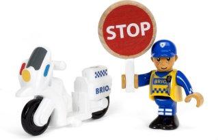 Brio World 33861 - Motorsykkelpoliti