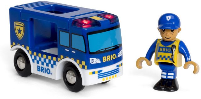 Brio World 33825 - Politibil