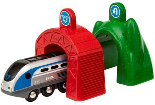 Brio World 33834 - Lokomotiv m/magiske tunneler